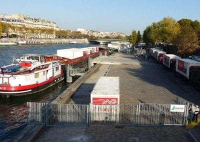 Port de la Bourdonnais Paris 7ème