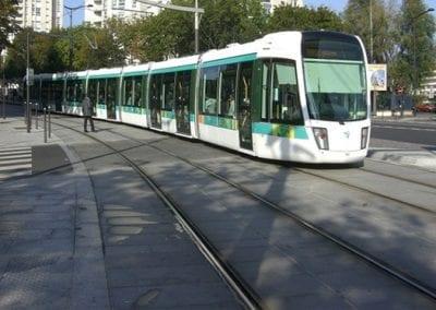 Tramway T3 Paris 20ème