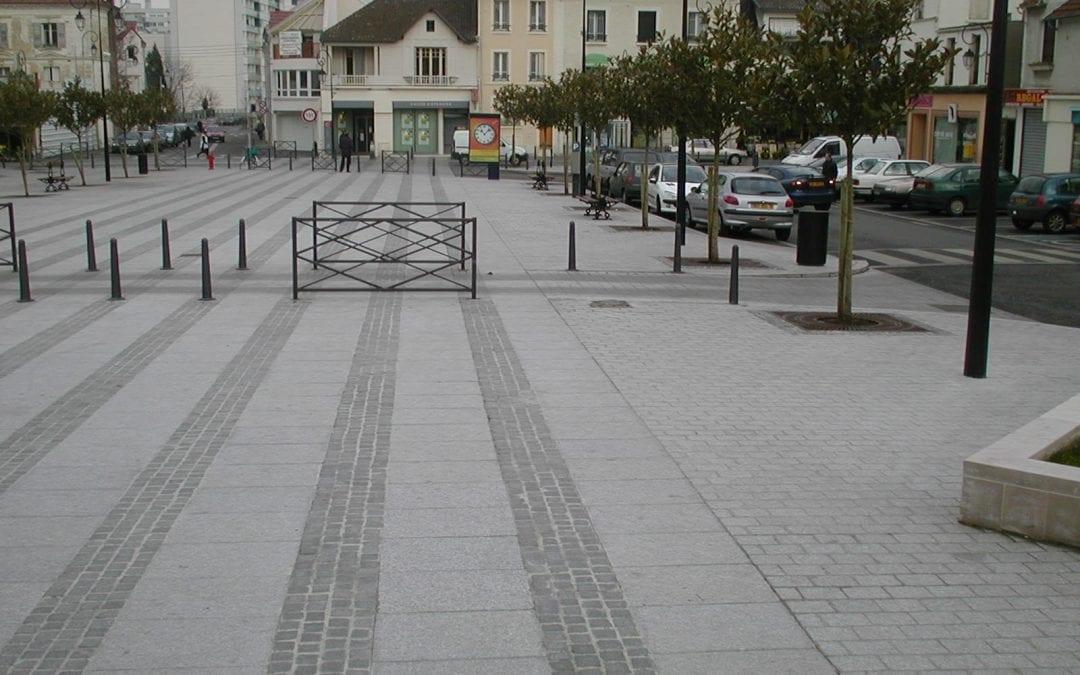 Place de la Mairie Les Mureaux – 78